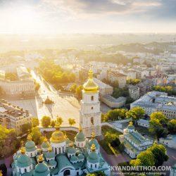 Софиевская площадь с высоты