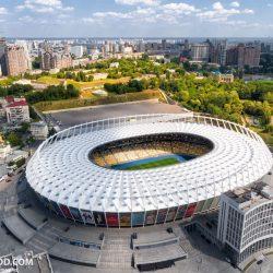 НСК Олимпийский. Главный стадион страны с высоты
