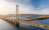 Южный мост с высоты
