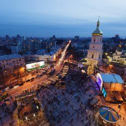 Новый Год 2015 на Софиевской площади