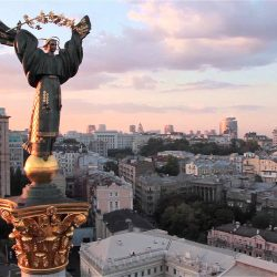 Киев с высоты. Kiev aerial showreel 2015