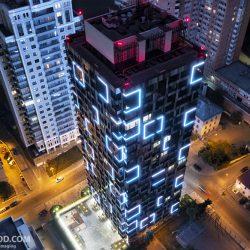 Tetris hall — современная архитектура европейского уровня в Киеве