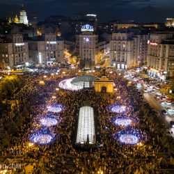 Музыкальные фонтаны на Майдане