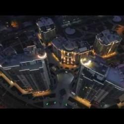 Архитектурная видеосъёмка с дрона для жилого комплекса «Новопечерские липки»