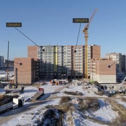 Строительство жилого комплекса с применением motion-графики