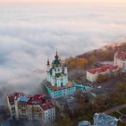 Kyiv aerial hyperlapse. Таймлапс Киева с дрона