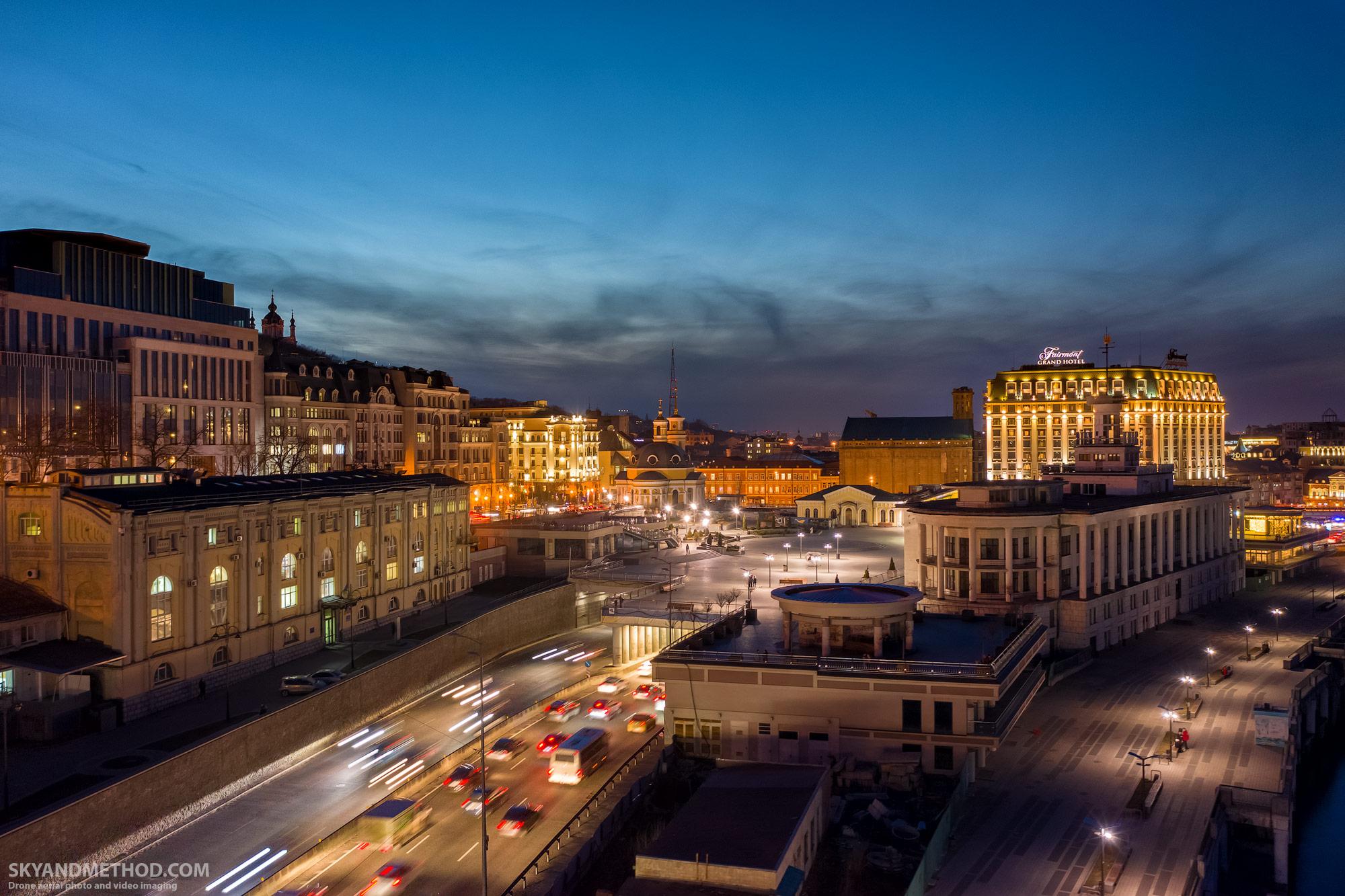 Аэросъёъмка Почтовой площади