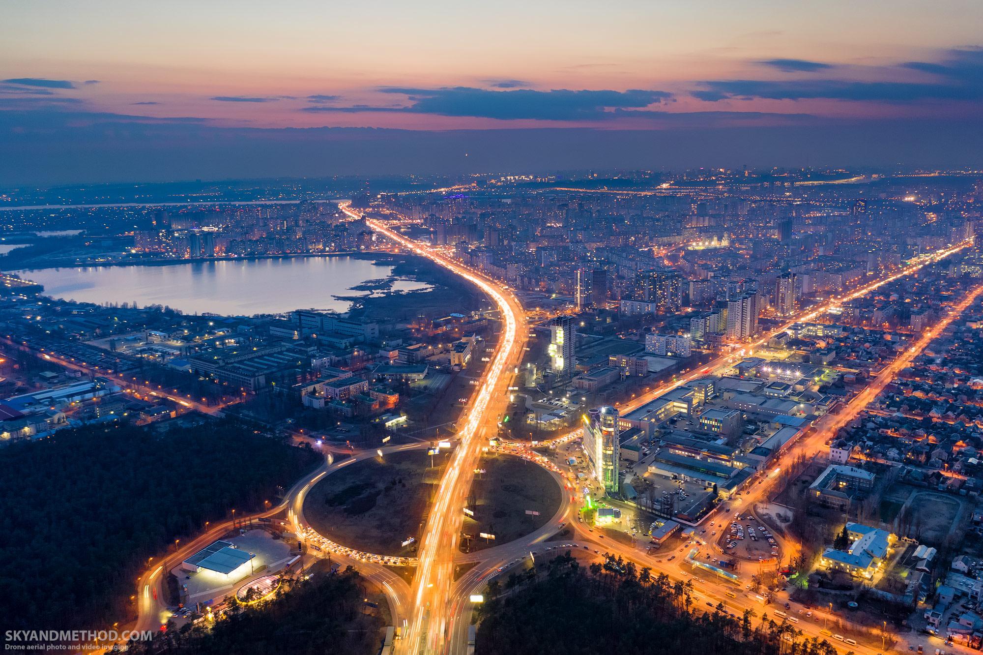 Киев с дрона