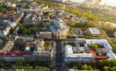 Одесса с высоты. Национальный академический театр оперы и балета
