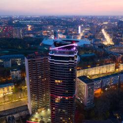 Jack House и ночные виды Киева