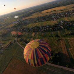 Фестиваль воздушных шаров Монгольфьерия
