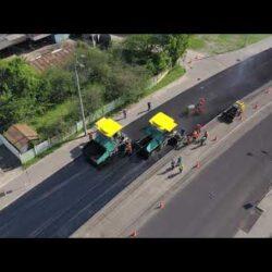 Видеосъёмка процесса реконструкции улицы Алма-Атинской